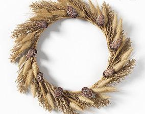 3D model Dry grass wreath