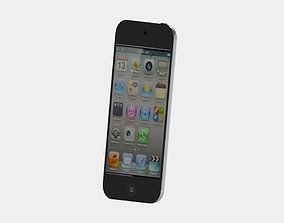 iPod touch 4 3D print model portable