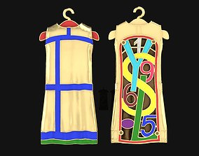 Pendant Dress YSL 3D printable model