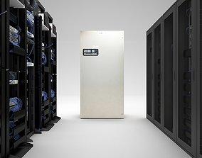 Server Room HD 3D model