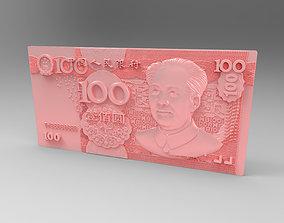 money RMB 3D printable model