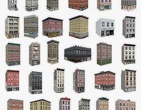 3D model 30 Apartment Buildings Collection