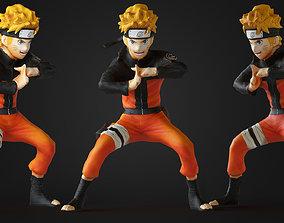 Naruto 3D asset