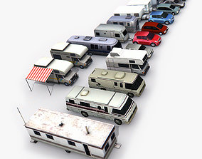 3D model Trailers Pack