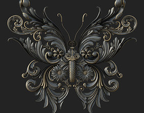 adobe-challenge-abstract-elements 3D Butterfly