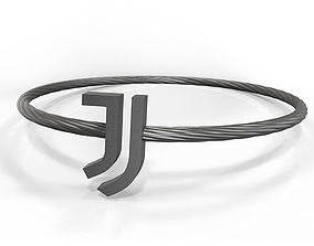 Juventus fan bracelet 3D printable model
