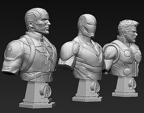 3D print model Avengers Bust Bundle