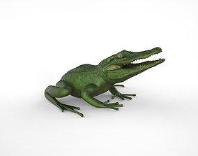 Froligator - Alifrog Hybrid Mashup 3D printable model