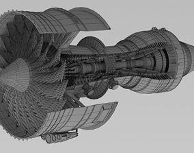 Airplaine Engine 3D model