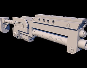 3D print model Omega Squad Veigar Weapon League Of 4