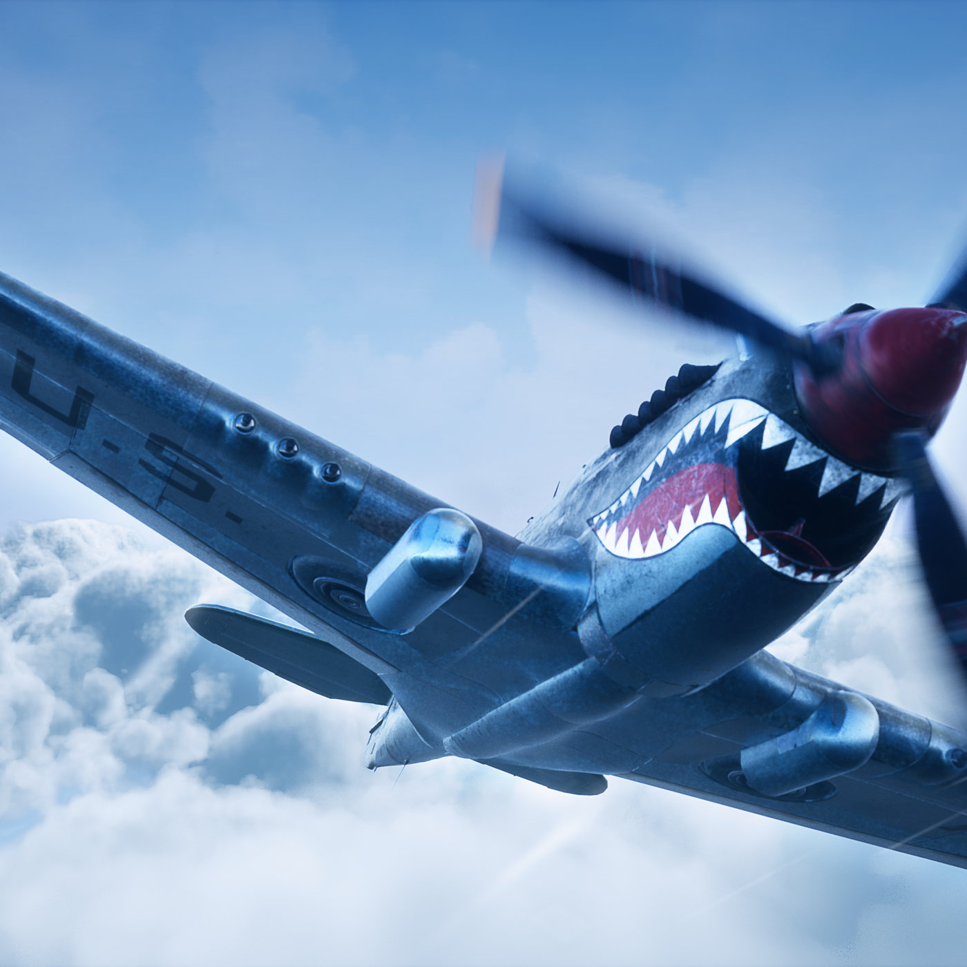 Curtiss P-40 Warhawks - Realtime