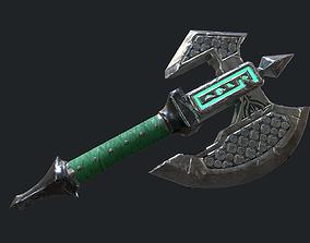 Fantasy Stylish- Axe of Freedom 3D asset
