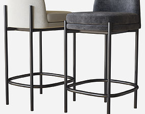 3D model Abdulrhaman bar stool allmodern