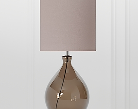 3D model COX and COX Sanna Smoke and Blush Table Lamp