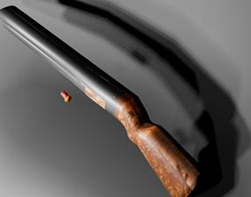 shotgun model with gauge weapon