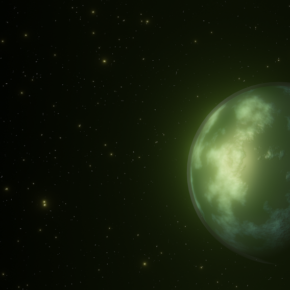 Planet My Cousin made...