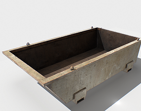 Trash Container 4 PBR 3D model