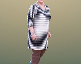 3D model Barbara 10527 - Walking Best Ager Woman