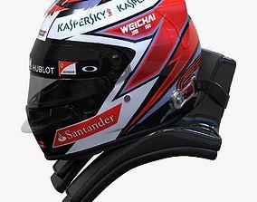 3D Kimi Raikkonen 2015 Style Racing helmet