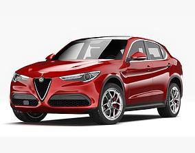 3D sport Alfa Romeo Stelvio 2018