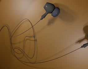 Ear phone headset 3D model