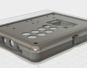 3D printable model Arcade Stick Barebones Case