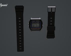 casio Casio watch 3D
