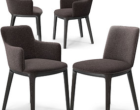 3D model Potocco Candy chairs