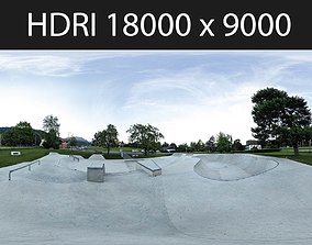 Skate Park HDRI hdr environment 3D model