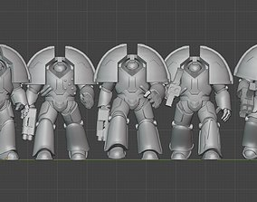 miniatures Heavy Exo Armour Mk1 3D print model