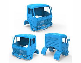 truck 3D print model Mercedes Benz NG 1632