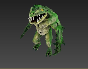 Character Monster 3D asset