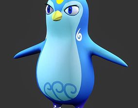 Penguin 3D model game-ready other