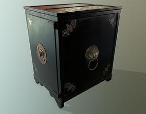 3D model Antique safe PBR
