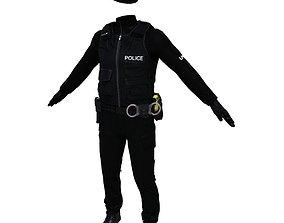 Police Officer 3D asset