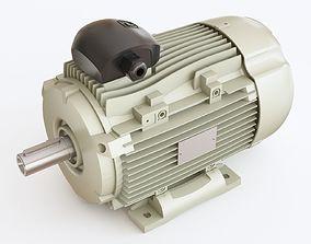 Electric motor 02 3D model