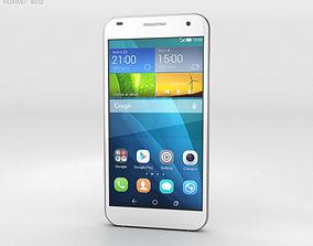 3D Huawei Ascend G7 White