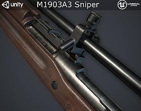 M1903A3 Sniper 3D model