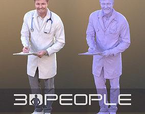 Andrew 10327 - Working Doctor 3D asset