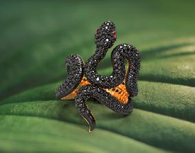 Ring BLACK MAMBA 3D printable model