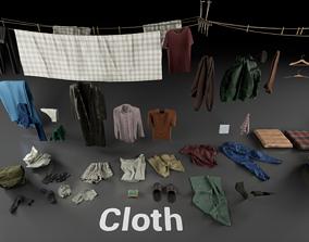 Post Soviet Cloth UE4 3D asset