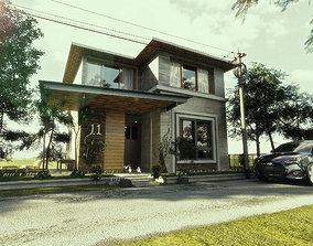3D asset sketchup vray 2 render settings sketchup casa 1