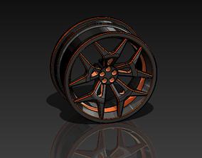 Rim 3D Model tyre