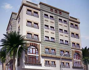 Residential Building 3D brick