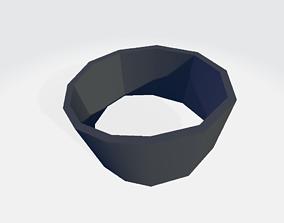 Left Leg Military Band Wrapper 3D model