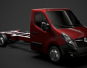 Vauxhall Movano SingleCab SW E30 Chassis 2020 3D model