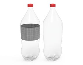3D model game-ready Bottle beverage