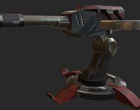 turret 3D military