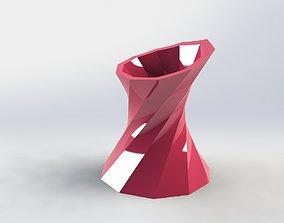 Decorative Flower Pot 24 3D printable model