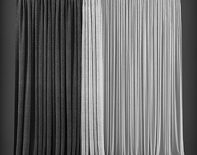 realtime Curtain 3D model 178